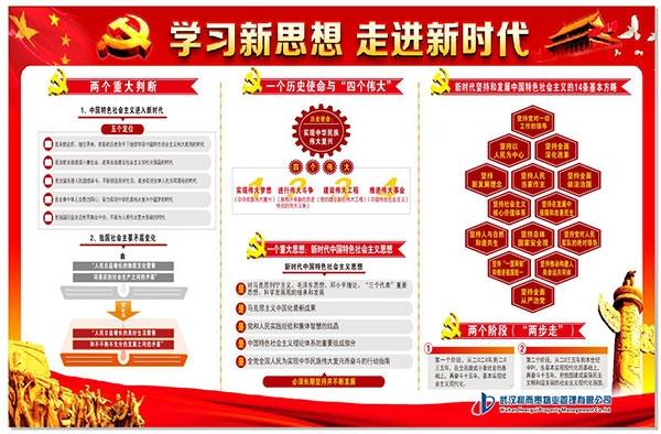 红色物业-展板